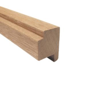 Raamprofiel meranti (stijl/bovendorpel) 55x67x3350mm