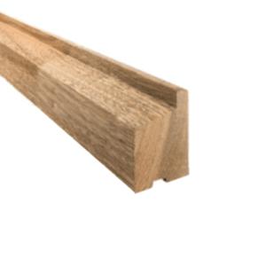 Raamprofiel meranti schuin (onderdorpel) 55x80x3350mm